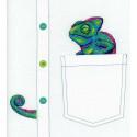 Любопытный хамелеон Набор для вышивания МП Студия В-253