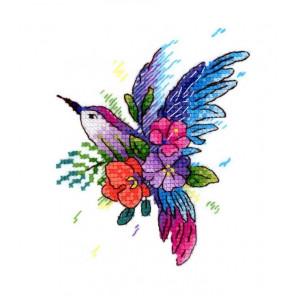 Райская птичка Набор для вышивания МП Студия В-256