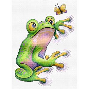 Лягушка Набор для вышивания МП Студия В-534