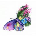 Цветочный полет Набор для вышивания МП Студия В-539