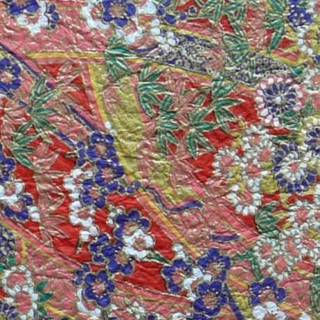 Фрагмент Поле цветов Бумага ручной работы Васи
