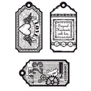 Ярлычки Любовь Набор прозрачных штампов для скрапбукинга, кардмейкинга Viva Decor