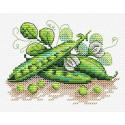 Зеленый горошек Набор для вышивания МП Студия М-517
