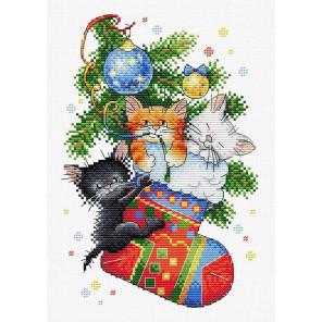 Новогодний подарок Набор для вышивания МП Студия М-563