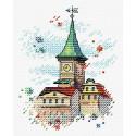 Крыши Таллина Набор для вышивания МП Студия М-564