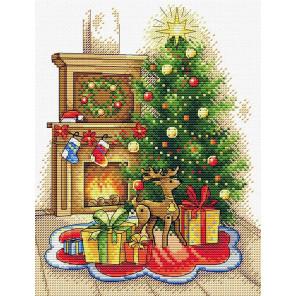 Рождественский вечер Набор для вышивания МП Студия М-565