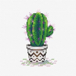 Бодрый кактус Набор для вышивания МП Студия М-382