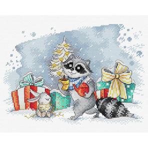 В канун Рождества Набор для вышивания МП Студия М-398