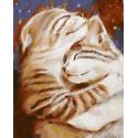 Мурчу тобою. Два кота Картина по номерам на дереве PKT59010