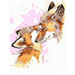 Любовь мамы Раскраска картина по номерам на холсте PKD76048