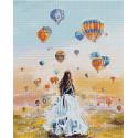 Там, где рождаются мечты Алмазная вышивка мозаика на подрамнике QAPK59005