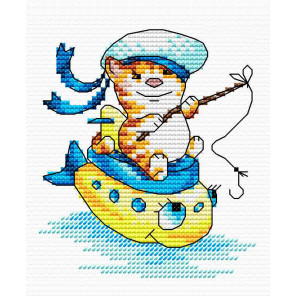 Морячок Набор для вышивания МП Студия М-045