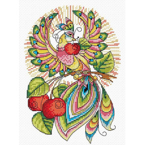 Сказочная птица Набор для вышивания МП Студия М-049