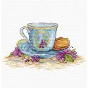 Печенье и завтрак Набор для вышивания МП Студия М-074