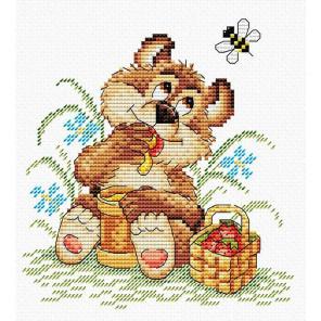 Мишкина радость Набор для вышивания МП Студия М-076