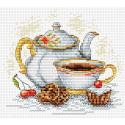 Утренний чай Набор для вышивания МП Студия М-092