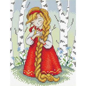 Красна девица Набор для вышивания МП Студия М-182