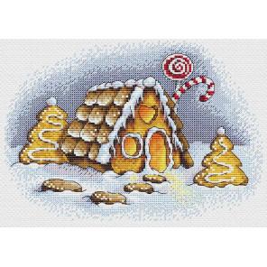 Пряничная зима Набор для вышивания МП Студия М-192