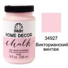 34927 Викторианский винтаж Home Decor Акриловая краска FolkArt Plaid