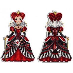 Красная королева Набор для вышивания на пластиковой канве МП Студия Р-401