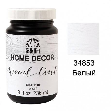 34853 Белый Морилка FolkArt Home Decor Plaid
