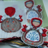 Пример вышитой работы Кубышка. Оберег Набор для вышивания на пластиковой канве МП Студия Р-152