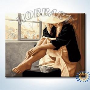 В ожидании Раскраска по номерам на холсте Hobbart Lite
