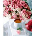 Розы и кофе Раскраска картина по номерам на холсте GX34801