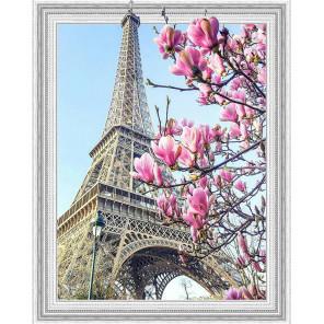 Весна в Париже Алмазная мозаика вышивка на подрамнике Molly KM0644