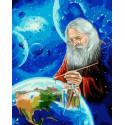 Создатель Раскраска картина по номерам на холсте PK85033