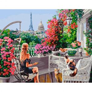 Парижанки Раскраска картина по номерам на холсте 277-AB