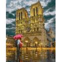Храм в центре Парижа Раскраска картина по номерам на холсте GX37021