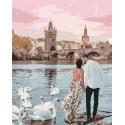 Прогулка по Праге Раскраска картина по номерам на холсте GX37272