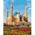 Мечеть Халифа Алтай Раскраска картина по номерам на холсте MCA870