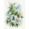Благоухающие лилии Канва с рисунком для вышивки МП Студия СК-052