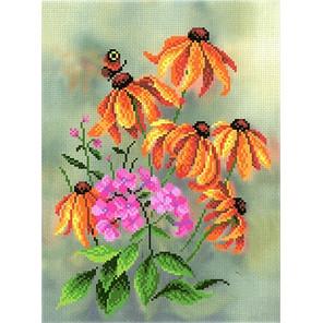 В осеннем саду Канва с рисунком для вышивки МП Студия СК-053
