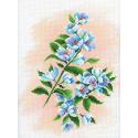 Яблоневый сад Канва с рисунком для вышивки МП Студия СК-058