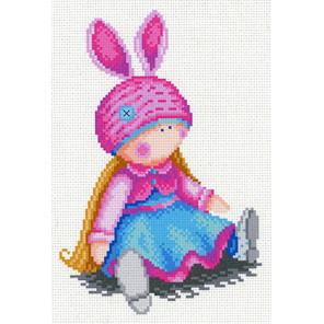 Зайка моя Канва с рисунком для вышивки МП Студия СК-068