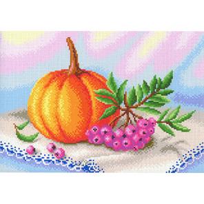 Осенние дары Канва с рисунком для вышивки МП Студия СК-082