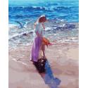 В солнечный день на море Раскраска картина по номерам на холсте МСА479