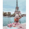 Пикник в Париже Раскраска картина по номерам на холсте GX30379