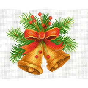Новогодняя мелодия Канва с рисунком для вышивки МП Студия СК-002