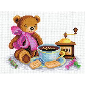Кофейная услада Канва с рисунком для вышивки МП Студия СК-004
