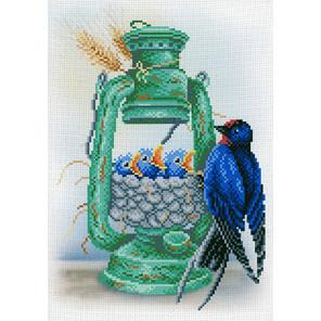 Ласточкино гнездо Канва с рисунком для вышивки МП Студия СК-013
