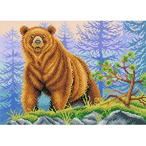 Хозяин леса Канва с рисунком для вышивки МП Студия СК-018