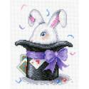 Волшебный кролик Канва с рисунком для вышивки МП Студия СК-048