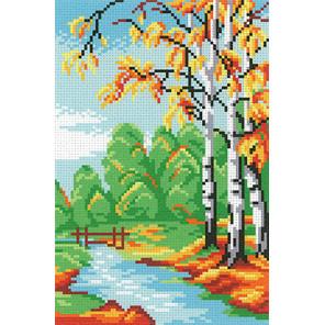 Последняя осень Канва с рисунком для вышивки МП Студия СК-045