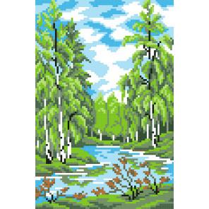 Лето в лесу Набор для вышивания МП Студия КН-424
