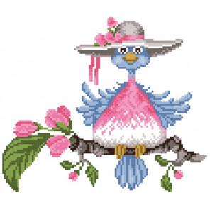 Птичка Набор для вышивания МП Студия КН-442