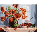 Смородиновое варенье 30х40 см Раскраска картина по номерам на холсте PKC79053